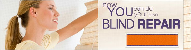 """FixMyBlinds - Do It Yourself Blind Repair (Has a """"cord loop"""" which might be what we need for our Silhouette-like shades; might have other parts we need too.)"""