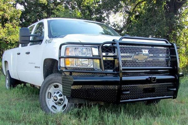 American Built Chevy Silverado 2500/3500 2015-2018 Front Bumper Winch Ready with Sensor H2C23152