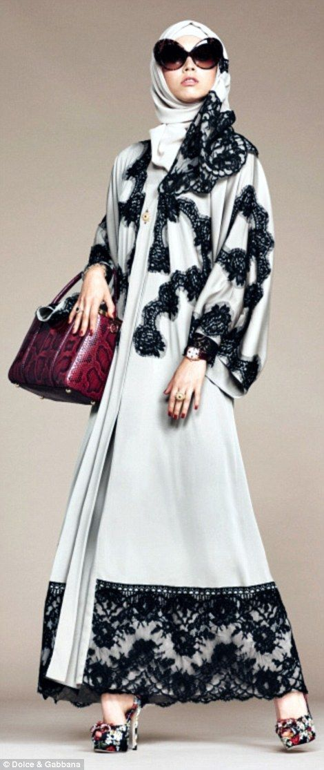 The range makes a heavy nod to D&G's Sicilian heritage with liberal use of black lace
