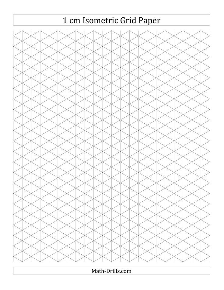 Best Isometric Drawing And Grid Paper Images On