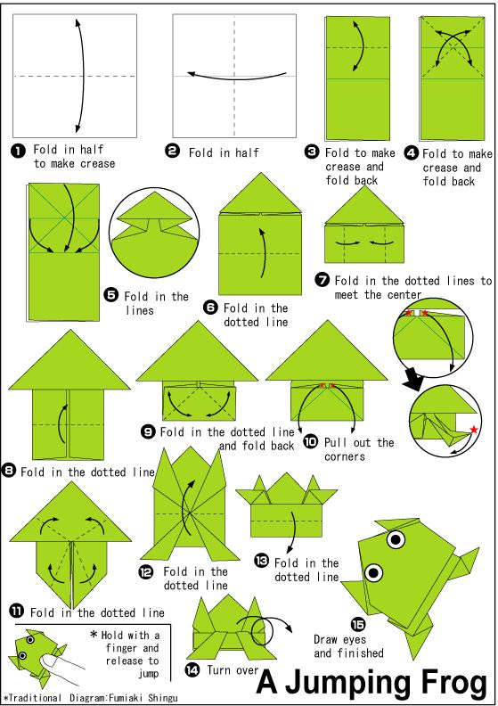 the 25 best origami frog ideas on pinterest jumping