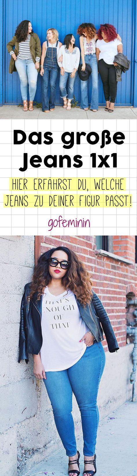 Jeans-Guide: So findet ihr die perfekte Jeans für jede Figur