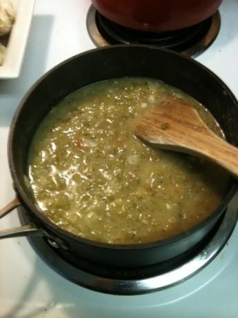 This is incredible on top of burritos and enchiladas! Traditional-Style New Mexico Green Chile Sauce