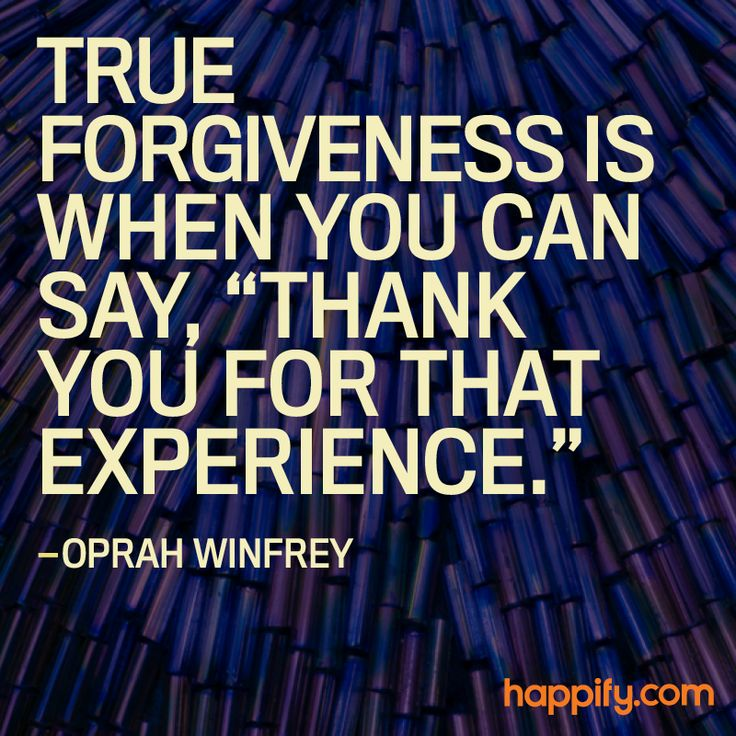 An Easy Way to Go Through a Tough Experience ― Oprah Winfrey