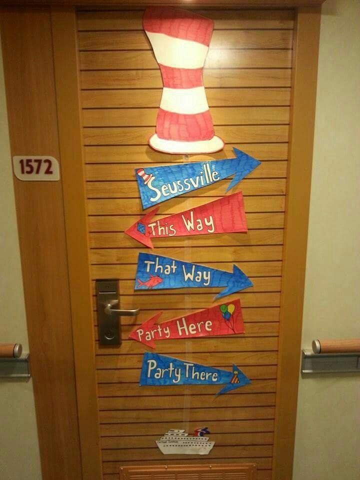 10 Best Cruise Ship Door Decoration Images On Pinterest