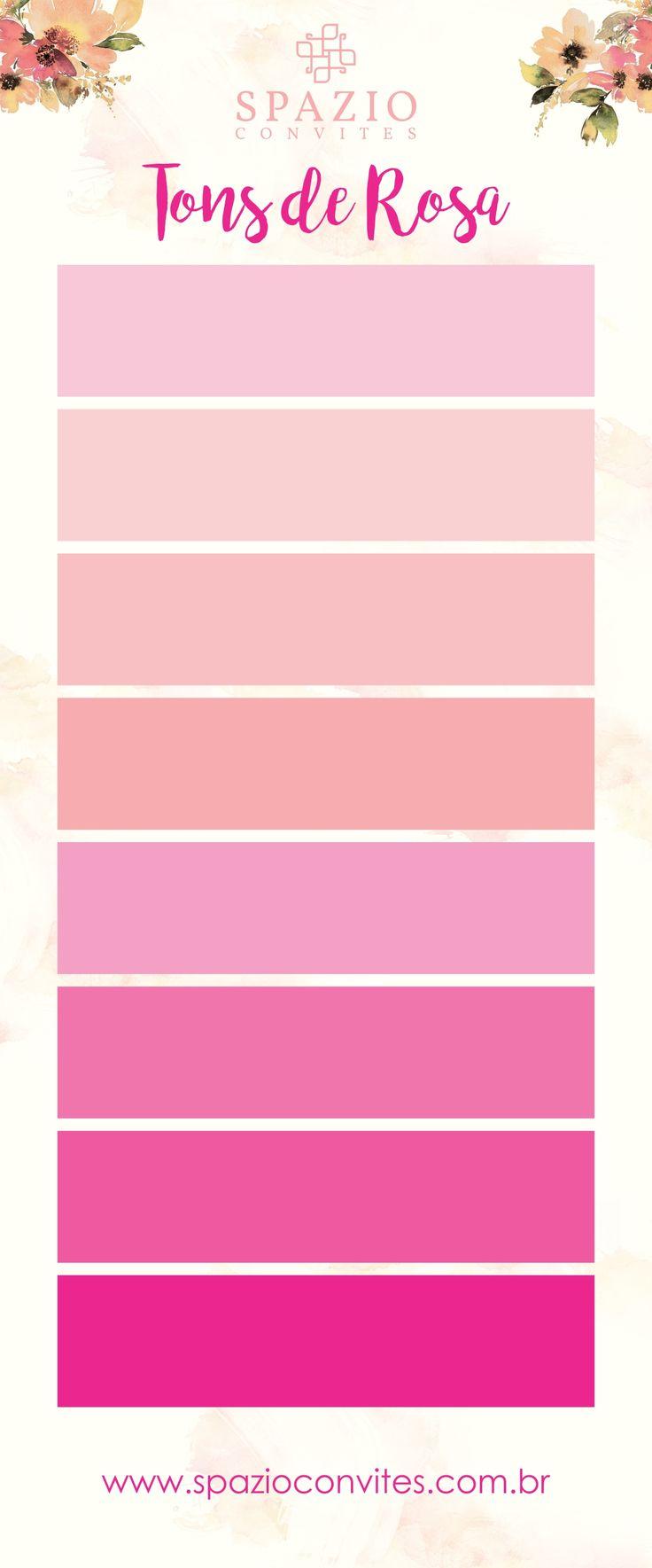 Cor Rosa Nude, tons de Nude para casamento, baton, paleta de cores rosa pink, rosa claro, tons pasteis.