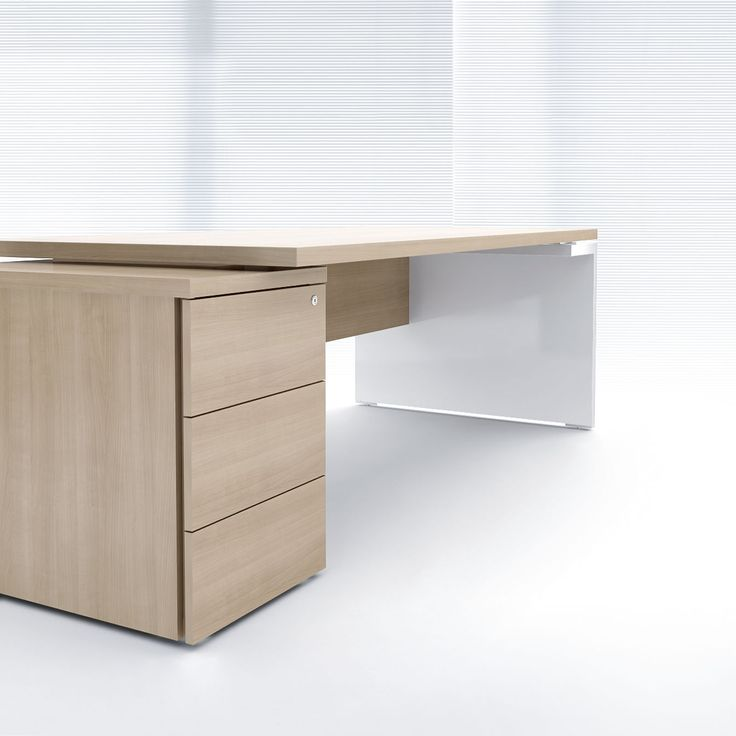 Executive desk / contemporary / wood veneer / commercial - MITO - MDD