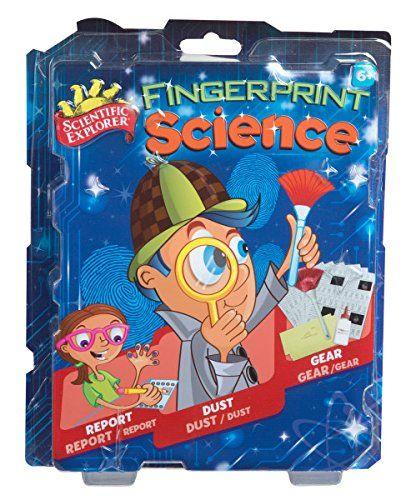 Scientific Explorer Fingerprint Science Mini Lab Scientif...