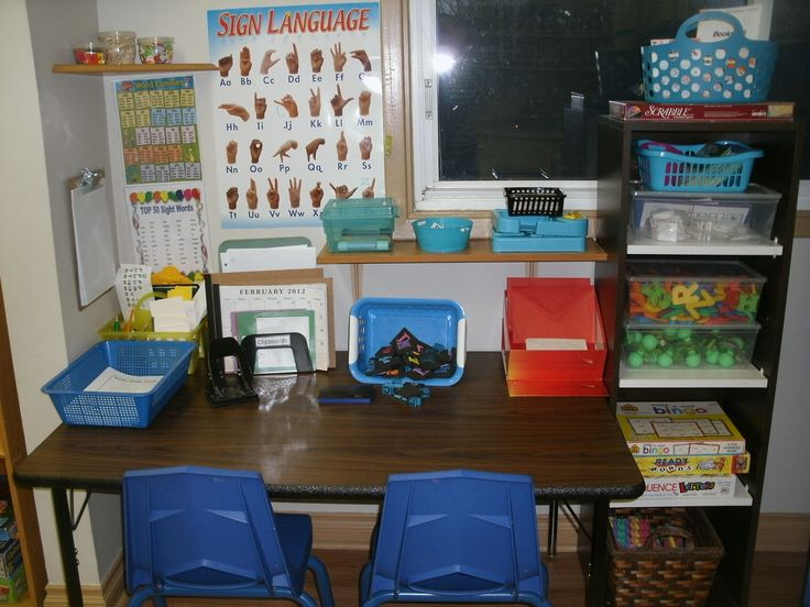 Language & Literacy Area