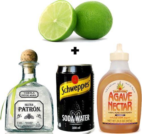 Happy Hour Skinny Margaritas