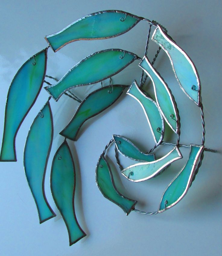 366 best images about stained glass fish on pinterest for Stained glass fish