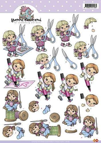 Knutselkraam.nl | 3D A4 Knipvel Card Deco Yvonne Creations - CD10185