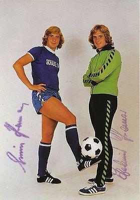 Original Foto Schalke 04 Mannschaft 1970er Jahre . Sport