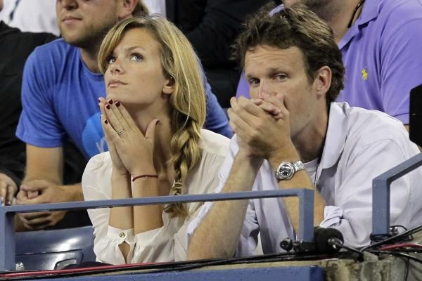 Sports Illustrated model Brooklyn Decker welcomed a baby girl with retired tennis star Andy Roddick in December.