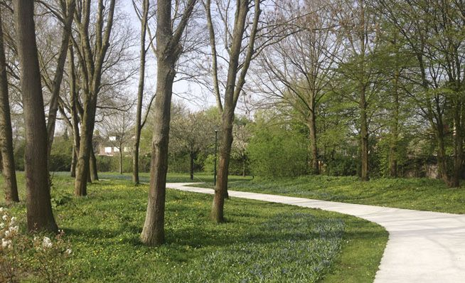 LOOS van VLIET / Bureau B+B - Bijvanck & Stichtseweg park, Blaricum