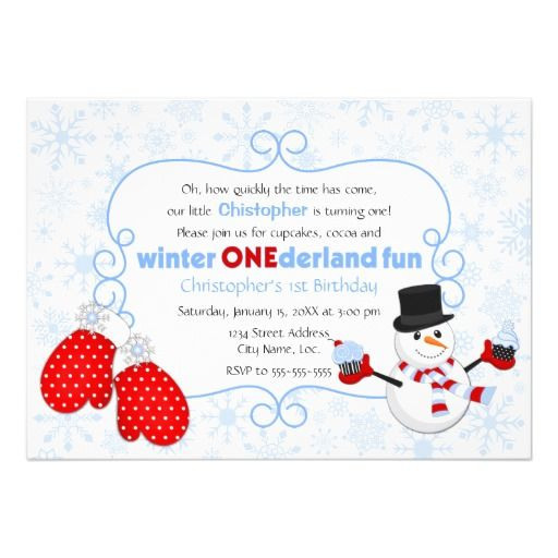 8 best Winter Birthday Party Invitations images – Winter Party Invitation