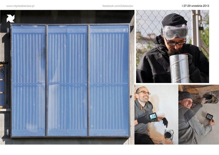 historia | Mlyn Zabierzow  DIY solar panel from beer cans