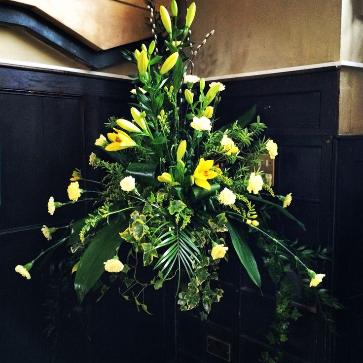Wedding Altar Pedestal: 136 Best Images About Church Flowers/pedestal Arrangements