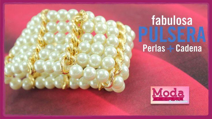Cómo hacer una pulsera perla 6 vueltas con Adri Muñoz Kit 23342