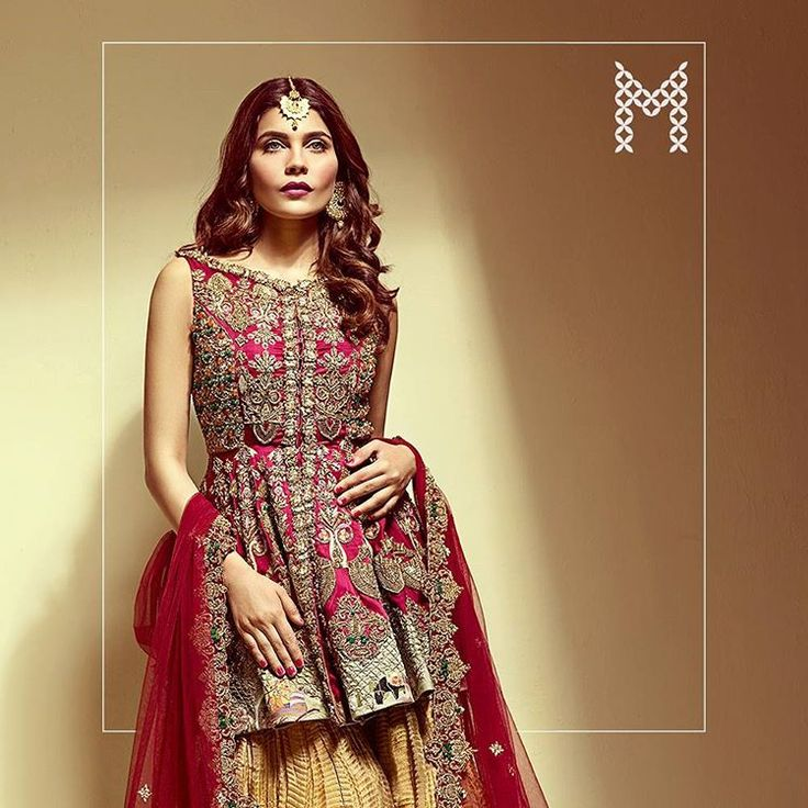 A beautiful crimson bridal from our new #Avanti Bridal collection! Model: Amna Babar. Photography: 360 Degrees/Guddu Shani. Styling: @haiyab Haiya Bokhari Inbox us for inquiries or e-mail at info@mahgul.com For appointments: Call 03040042257 #MAHGUL #Avanti #JustIn #Formals #trousseau #newcollection #Mahgul #Bridal #bts
