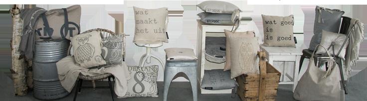 Zusss - Tassen, sjaals, kussens, keukentextiel, papierwaren, zeep