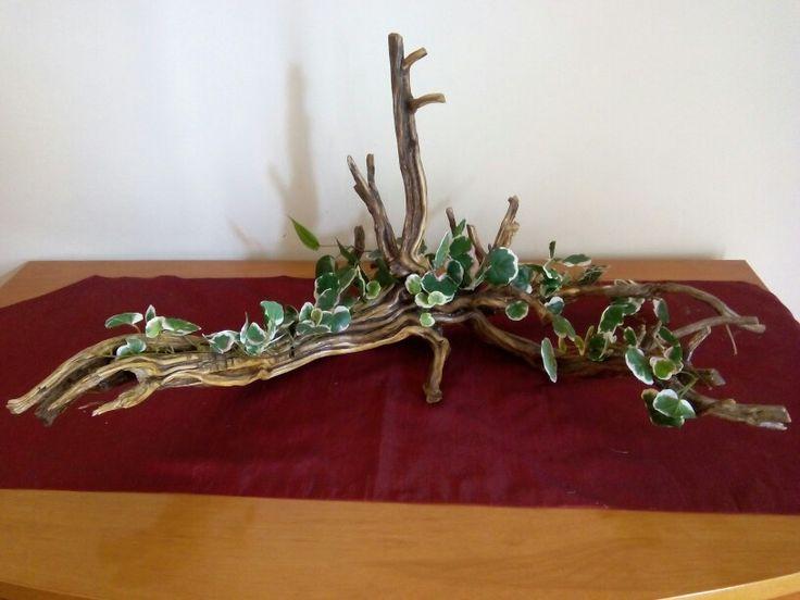 Heura amb fusta de romaní