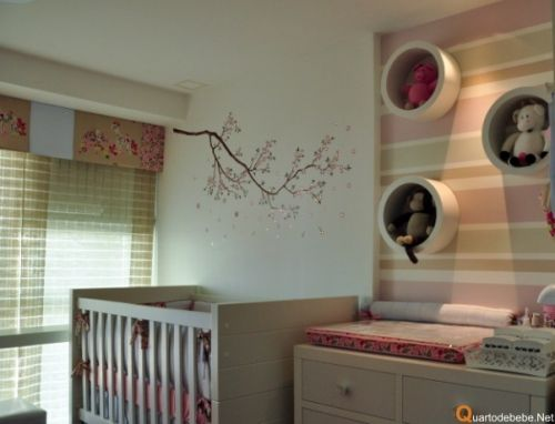Fotos de quartos de bebê menina decorados | MIMO INFANTIL