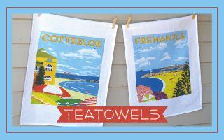 Love Mokoh Designs Tea Towels