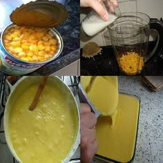 A Receita de Curau de Milho em Lata é prática e deliciosa. Você não vai perder tempo debulhando o milho, já que utiliza-se o milho em lata. Além disso, voc