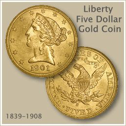 Liberty Five Dollar Gold Coin