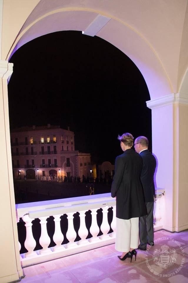 La Court Royale Monesgasque: Le Vendredi Saint avec le Couple souverain