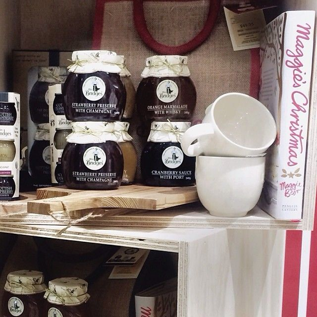 orgeous little Christmas goodies are out at Myer. Loving the Mrs Bridges range of preserves. Beautifully presented and very reasonably priced too #Myer #mrsbridges #christmas #preserves #jam