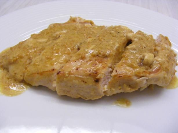 Pan-Seared Chicken With Mustard Sauce   Recipe