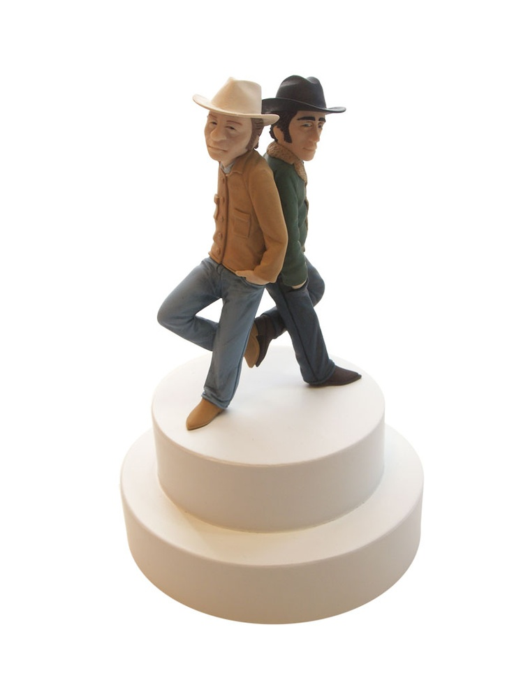 gay cake toppers for wedding cakes mike leavitt news back wedding topper polymer 4452