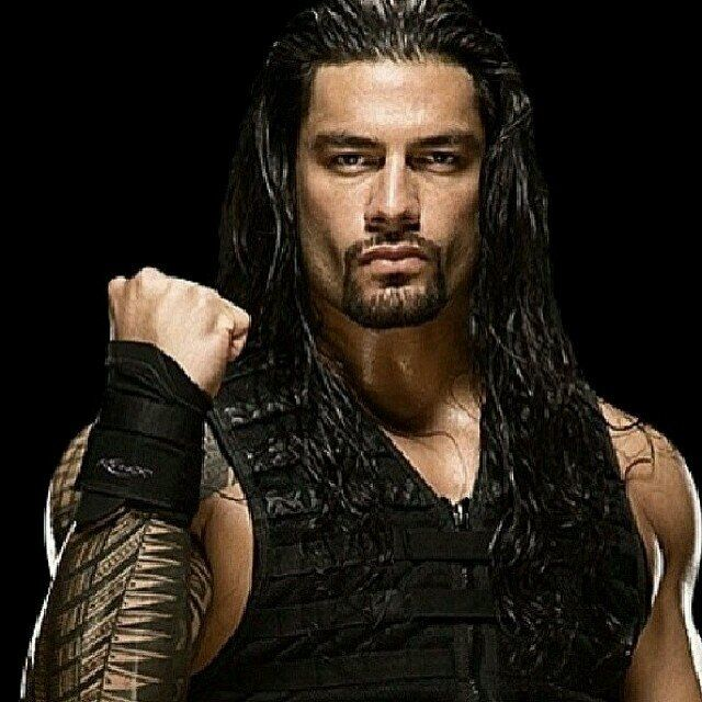 Roman Reigns: I do not like guys with hair this long... But damn!!! This guy is hot! :)