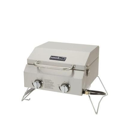 2-Burner Portable Quick And Easy Assembly Propane Gas Table Top Grill in Stainless Steel For Sale https://bestcharcoalgrillsusa.info/2-burner-portable-quick-and-easy-assembly-propane-gas-table-top-grill-in-stainless-steel-for-sale/