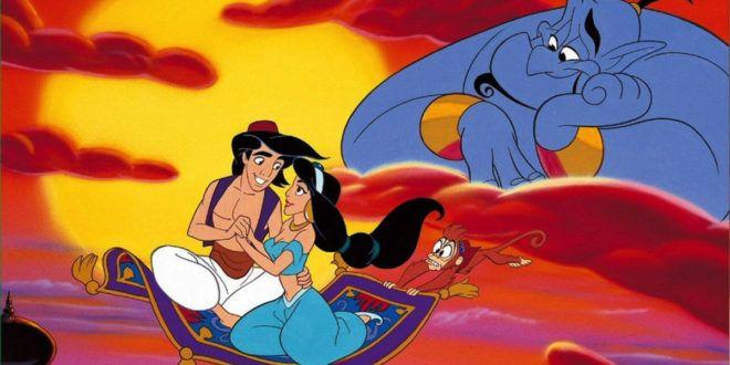 Colora i fantastici personaggi di Aladdin