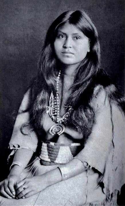 Beautiful Native American Woman