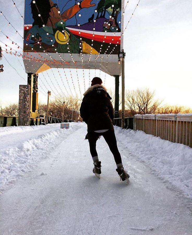 The Forks, Winnipeg Manitoba. Trails Manitoba @trailsmanitoba instagram