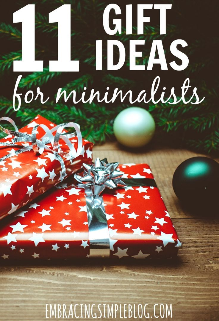 Tired of giving the same old gifts that just end up as clutter around the recipient's home? Don't miss these 11 gift ideas for minimalists - even non-minimalists will appreciate these clutter-free and thoughtful gift ideas!