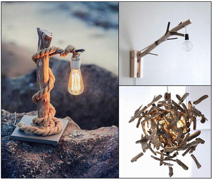 Les 52 meilleures images propos de deco branche bois for Arche en bois flotte