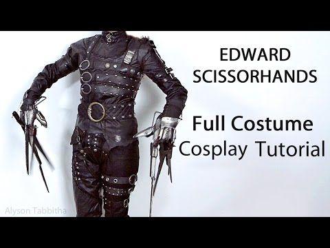 Edward's Scissorhands Prop - Cosplay Tutorial - YouTube
