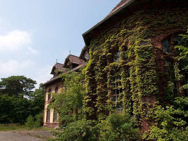 Hospital abandonado de Hitler é o lugar mais assustador do mundo