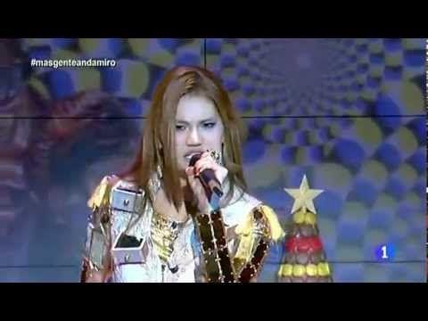Andamiro Hypnotize en +Gente TVE (20/12/2012) Spain