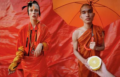 wmagazine:  When life hands you lemons.. Photograph by Tim Walker; styled by Jacob K; W magazine May 2014.