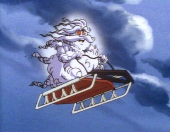 rosebud sled ghostbusters -who remembers this?