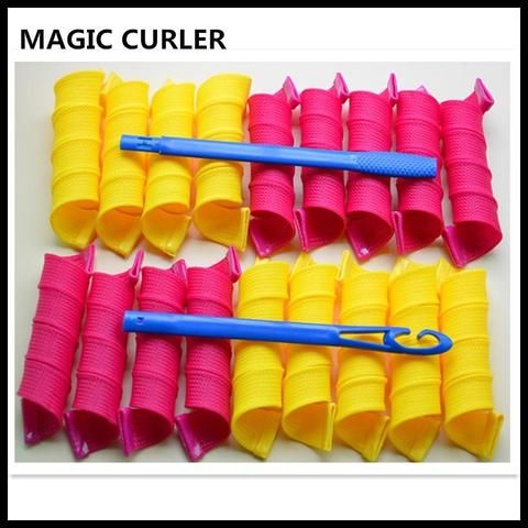 Cheapest and Best Reviews for NO HEAT MAGIC SAFETY HAIR CURLERS ROLLERS at trendingvip.com