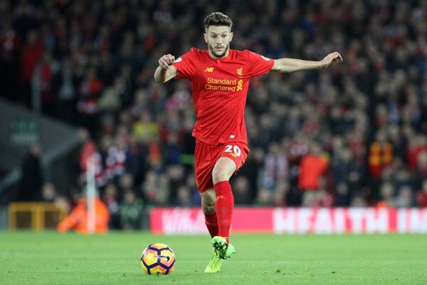 Adam Lallana suffers thigh injury-Dr. Parekh = Liverpool midfielder Adam Lallana with a thigh injury. Likely a grade two or three strain which would mean…..