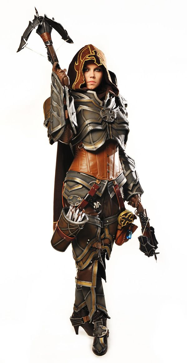 Armor is next on my to try making list. (Demon Hunter- Diablo 3)