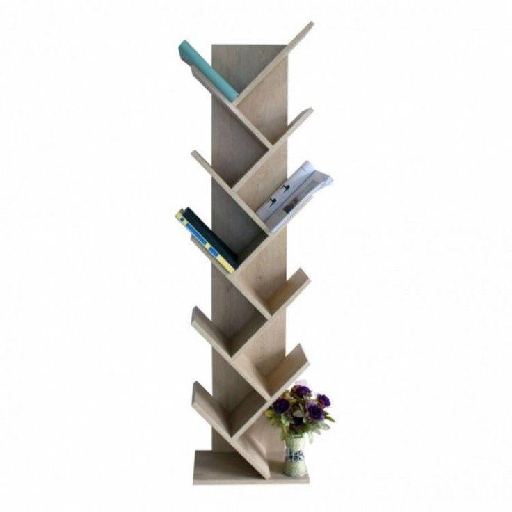 Modern Home Shelving Unit Display Storage Furniture Bookshelf 10 Tier Wood Brown #ModernHomeShelvingUnit #Modern